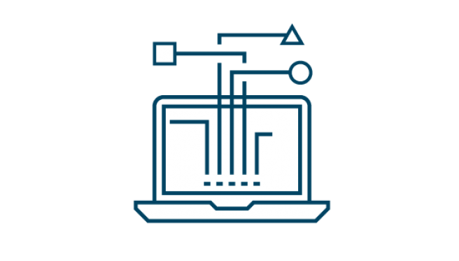 Flexibility in IT environments icon