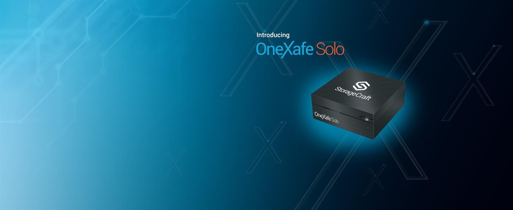 OneXafe Solo databeskyttelse og backup